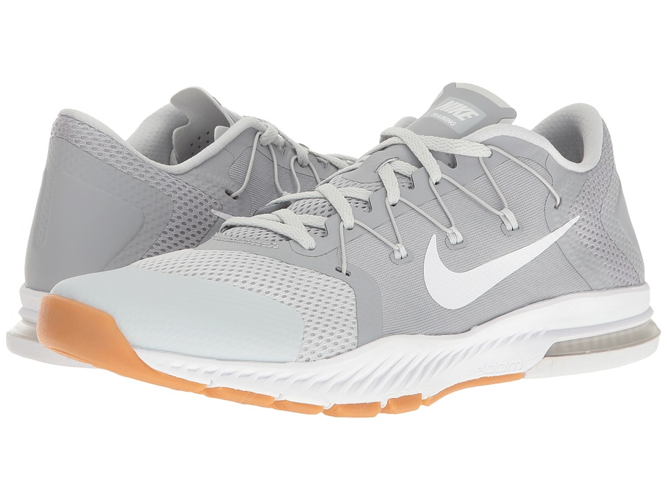 Nike - Zoom Train Complete (Wolf Grey/White/Pure Platinum/Gum Medium Brown) Men's Cross Training Shoes