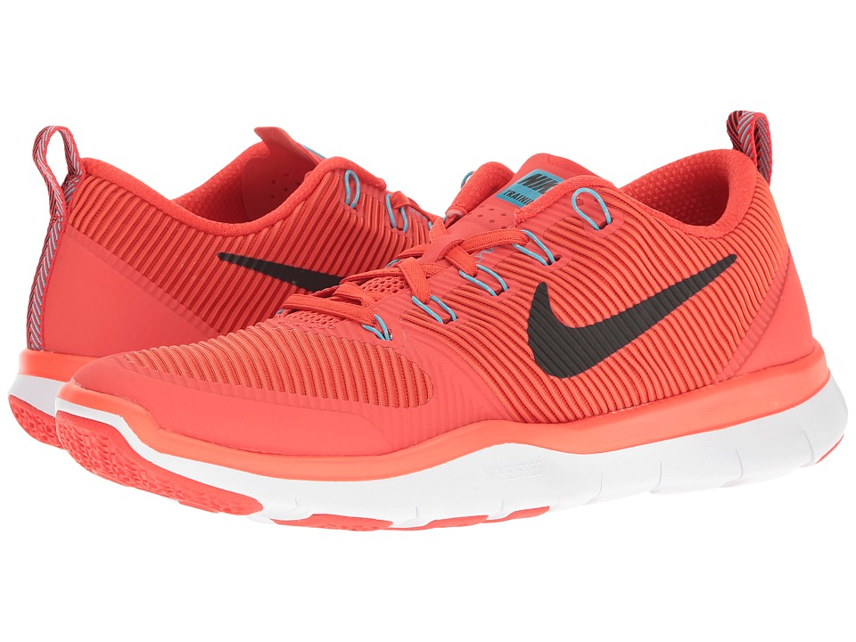 Nike - Free Train Versatility (Max Orange/Black/Hyper Orange/Chlorine Blue) Men's Cross Training Shoes