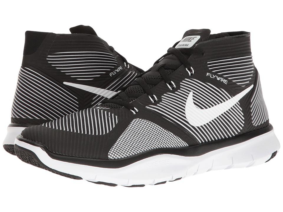 Nike - Free Train Instinct (Black/White/Volt) Men's Cross Training Shoes
