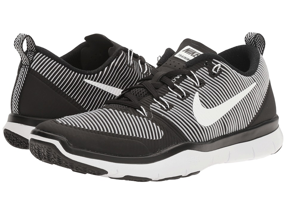 Nike - Free Train Versatility (Black/White) Men's Cross Training Shoes