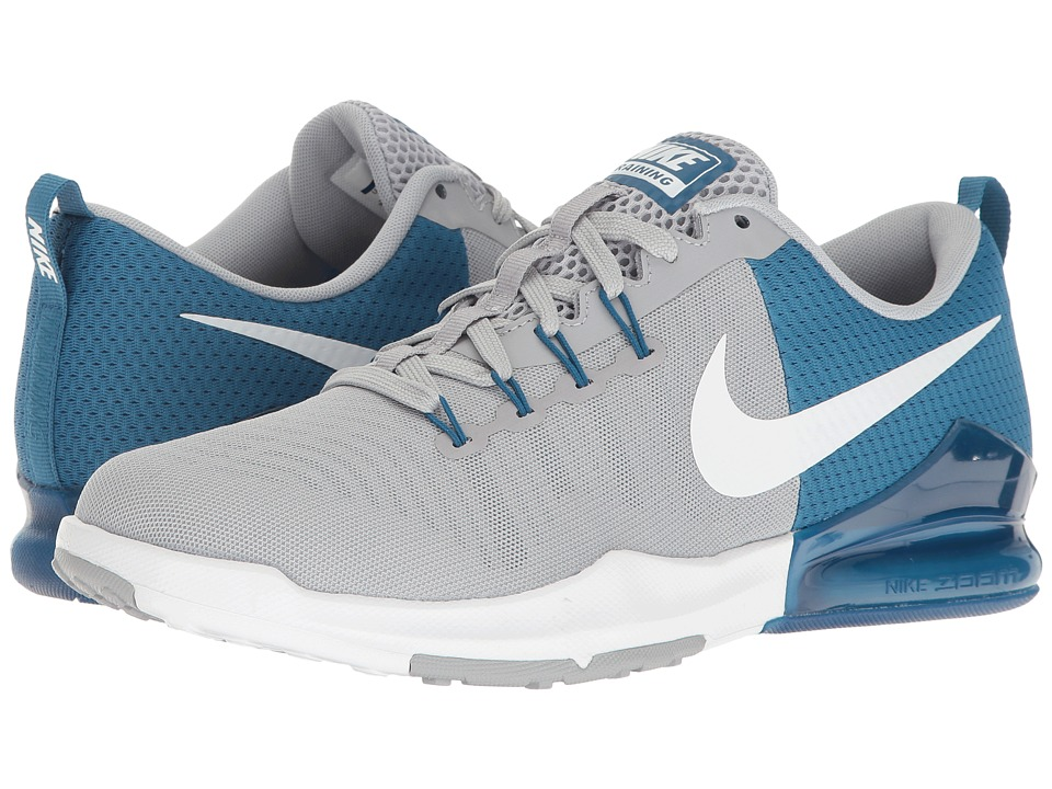 Nike - Zoom Train Action (Industrial Blue/White/Coastal Blue) Men's Cross Training Shoes
