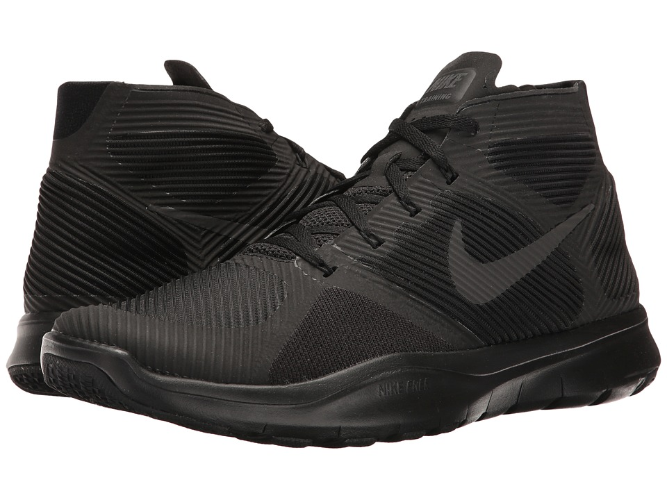 Nike - Free Train Instinct (Black/Black/Black) Men's Cross Training Shoes