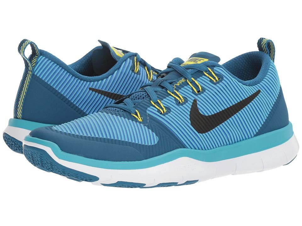 Nike - Free Train Versatility (Industrial Blue/Black/Chlorine Blue) Men's Cross Training Shoes