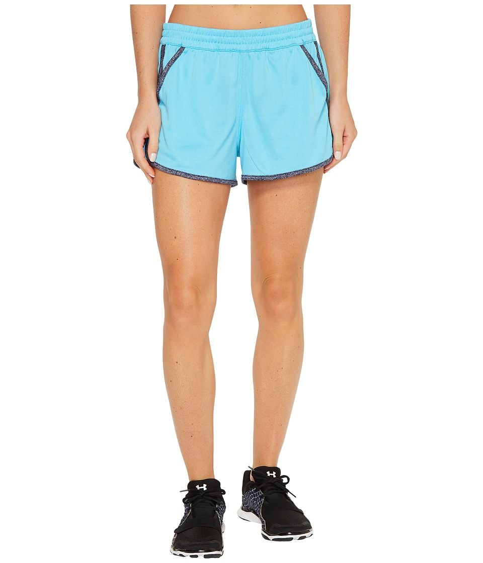 Under Armour Tech Shorts Twist (Island Blues/Midnight Navy) Women