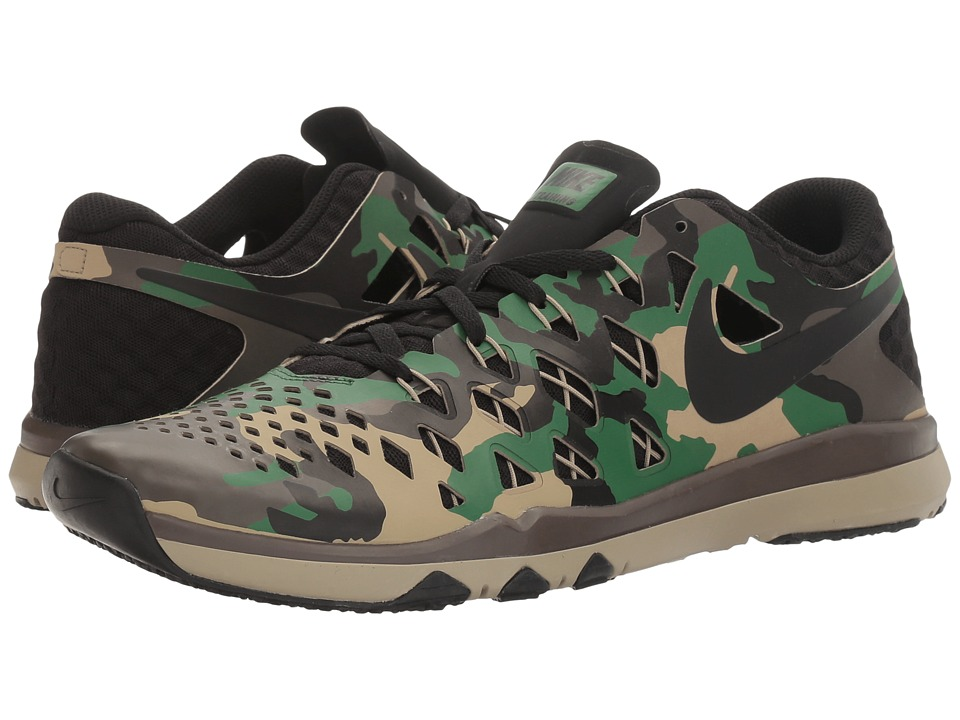 Nike - Train Speed 4 (Black/Gorge Green/Baroque Brown/Bamboo) Men's Shoes