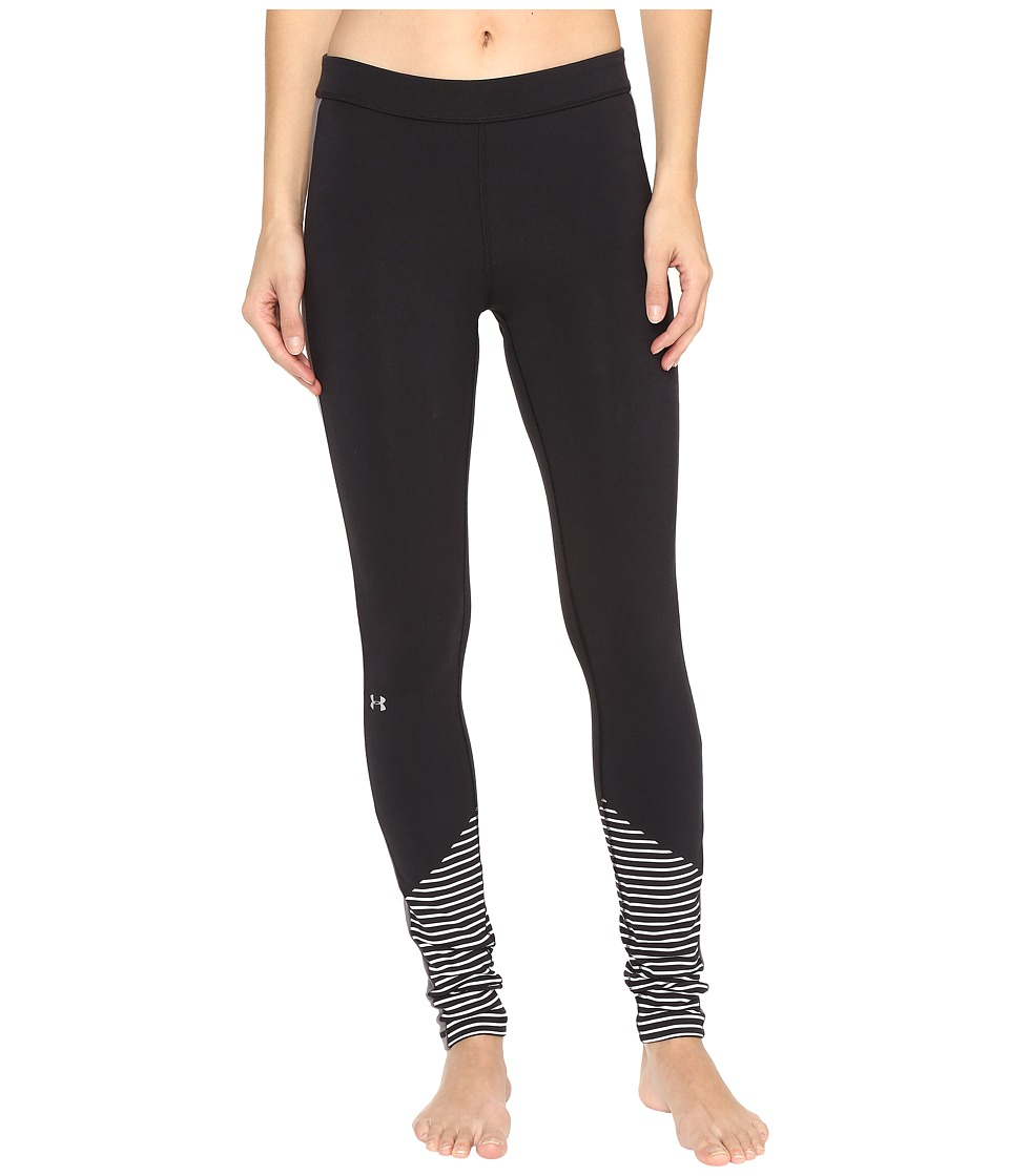 Under Armour - Favorite Leggings - Graphic (Black/White) Women's Casual Pants