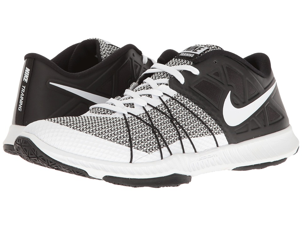 Nike - Zoom Train Incredibly Fast (White/Black) Men's Shoes