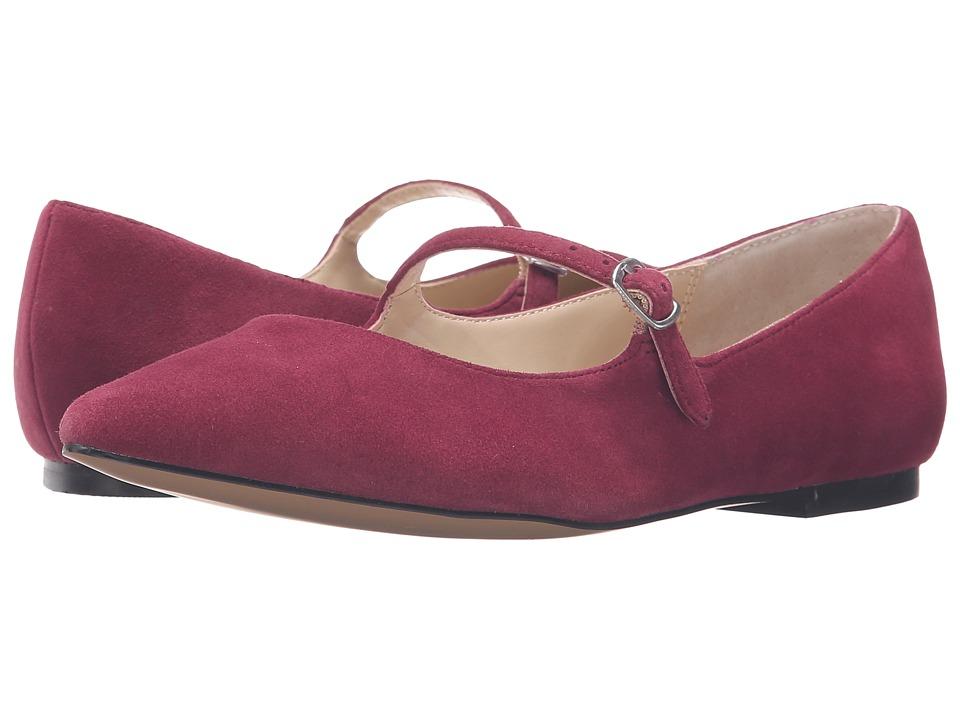 Adrienne Vittadini - Frazier (Merlot Kidsuede) Women's Wedge Shoes