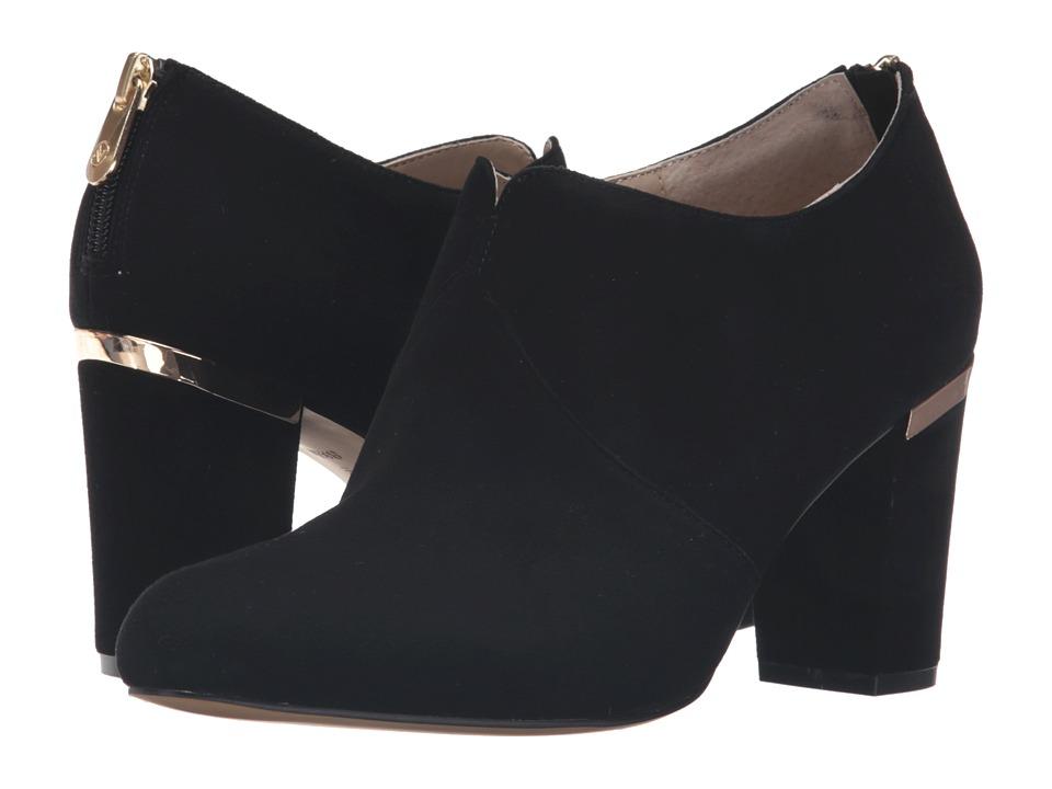 Adrienne Vittadini - Katana (Black Kidsuede) Women's Boots