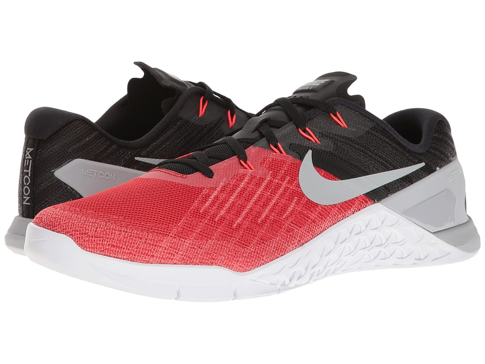 Nike - Metcon 3 (University Red/Wolf Grey/Black/White) Men's Cross Training Shoes