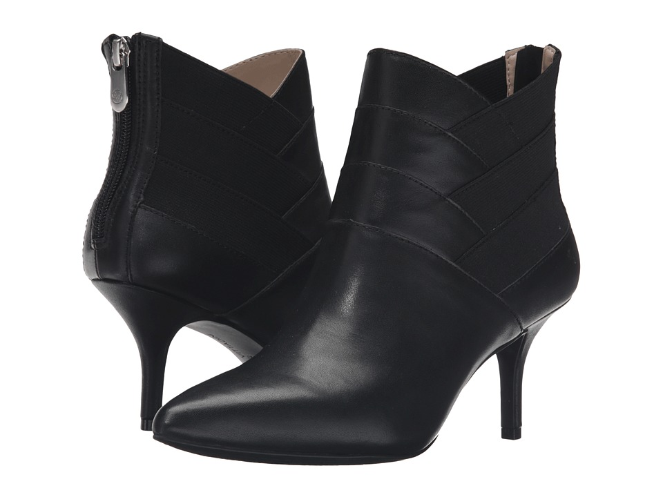 Adrienne Vittadini Sande (Black Soft Calf) Women