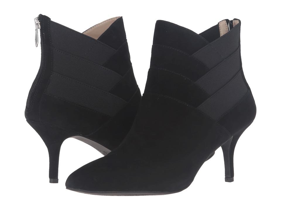 Adrienne Vittadini - Sande (Black Kidsuede) Women's Boots
