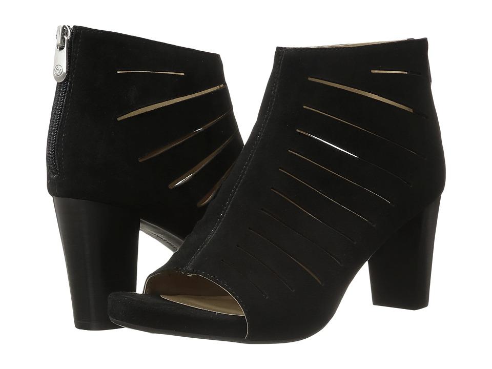 Adrienne Vittadini - Brodea (Black Kidsuede) High Heels