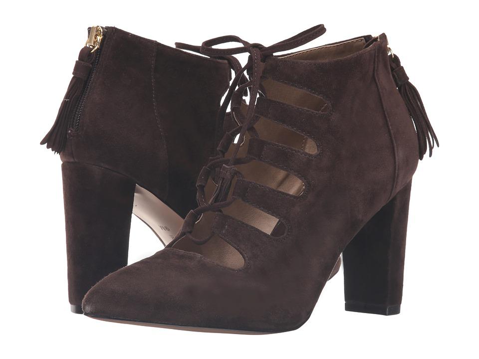 Adrienne Vittadini - Neano (Dark Chocolate Kidsuede) Women's Boots