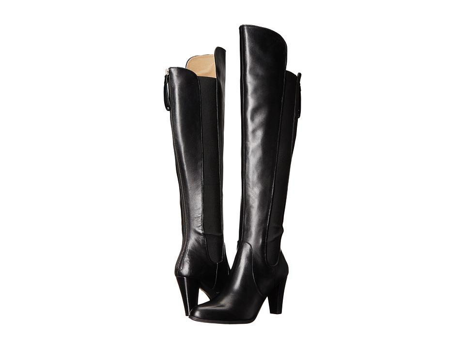 Adrienne Vittadini - Tex (Black Soft Calf) Women's Boots