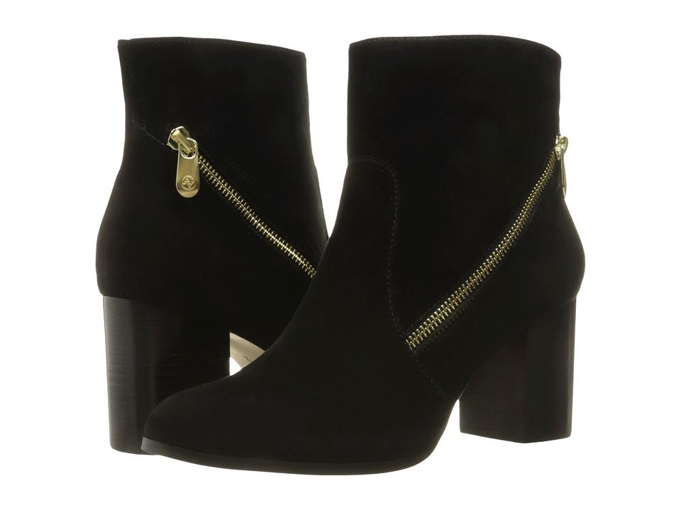 Adrienne Vittadini - Bob (Black Kidsuede) Women's Boots