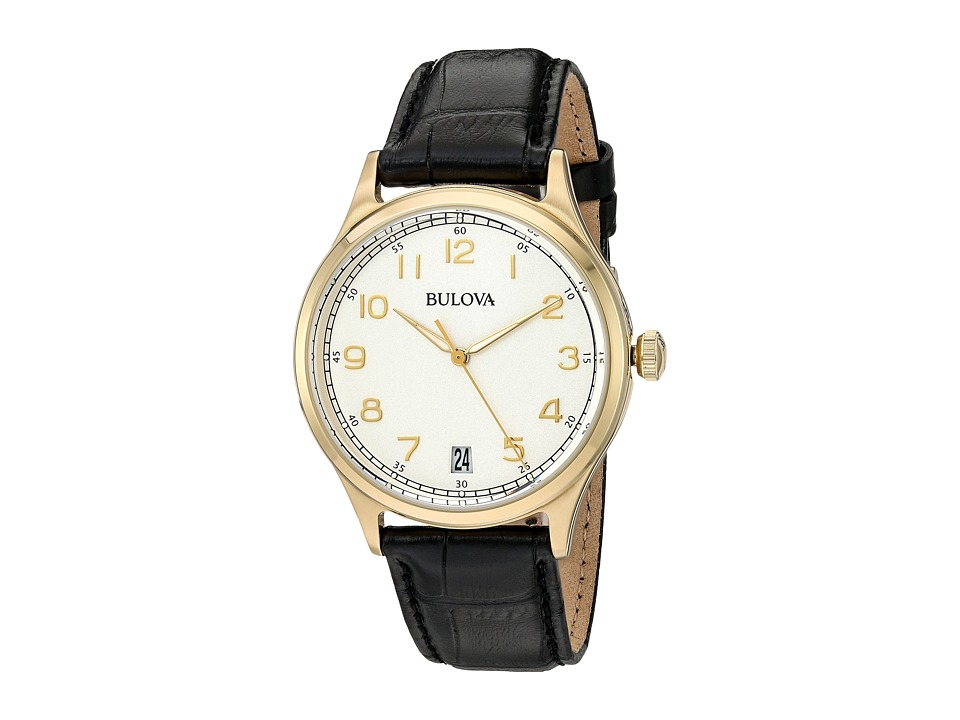 Bulova - Classic - 97B147 (Cream/Yellow Gold) Watches