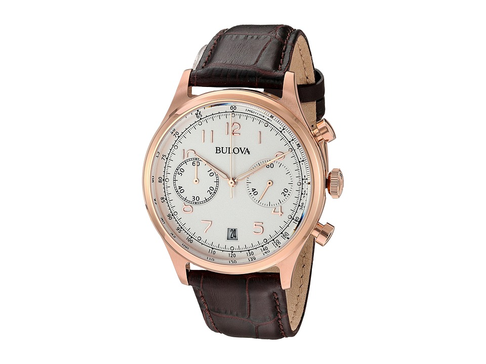 Bulova - Classic - 97B148 (Cream/Rose Gold) Watches