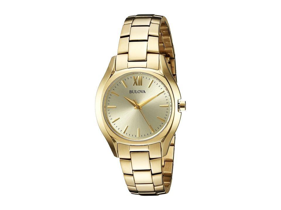 Bulova - Classic - 97L150 (Champagne/Yellow Gold) Watches