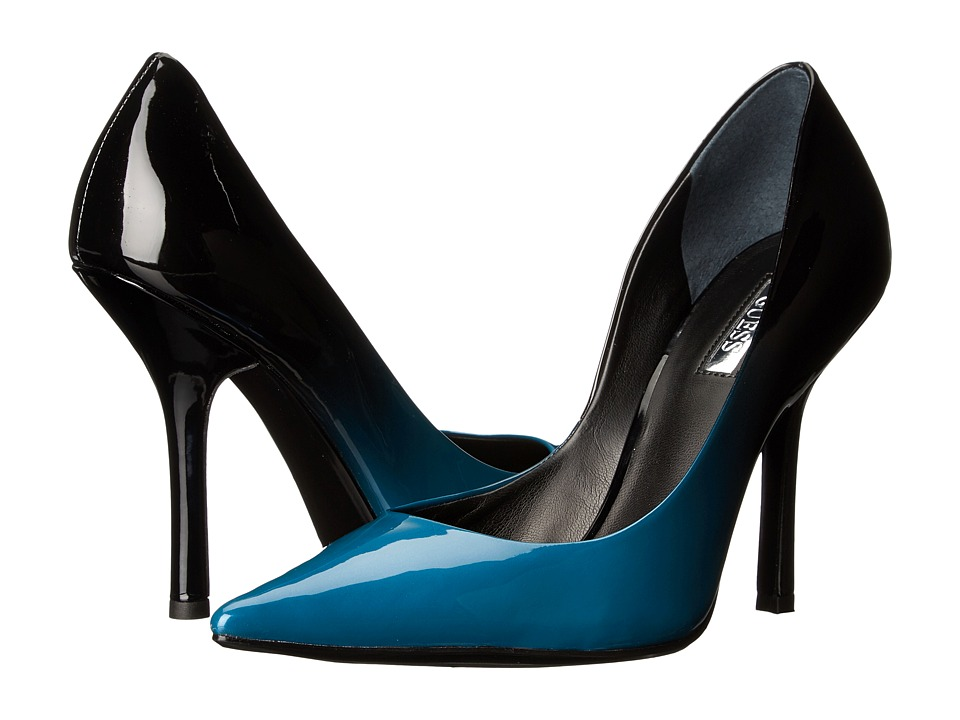 GUESS - Carrie (Blue Ombre) High Heels