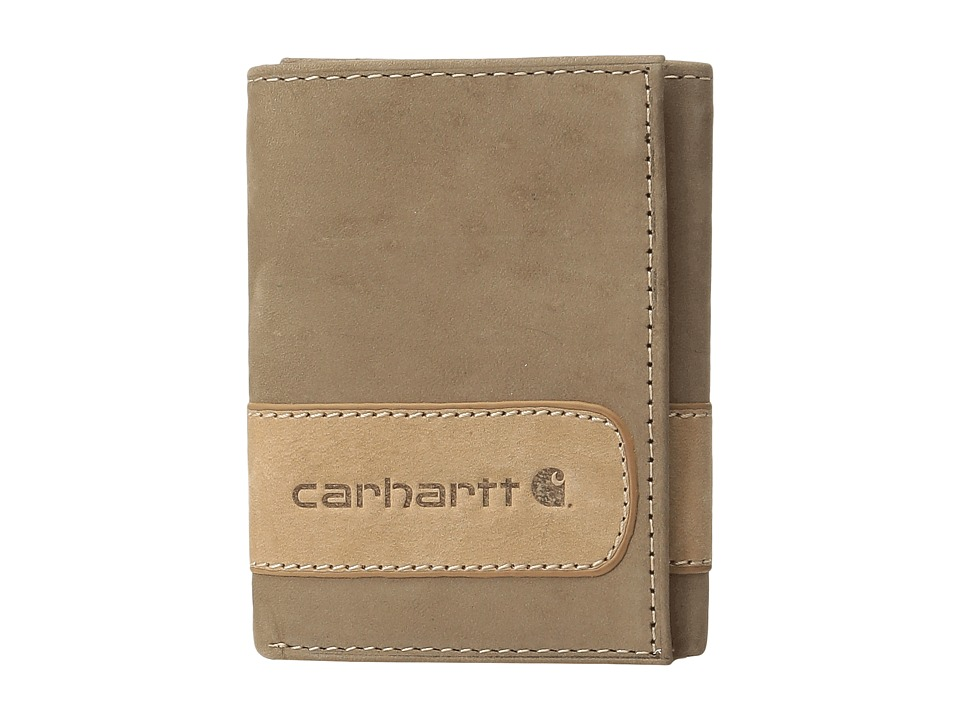 Carhartt - Two-Tone Trifold Wallet (Two-Tone Brown) Wallet Handbags