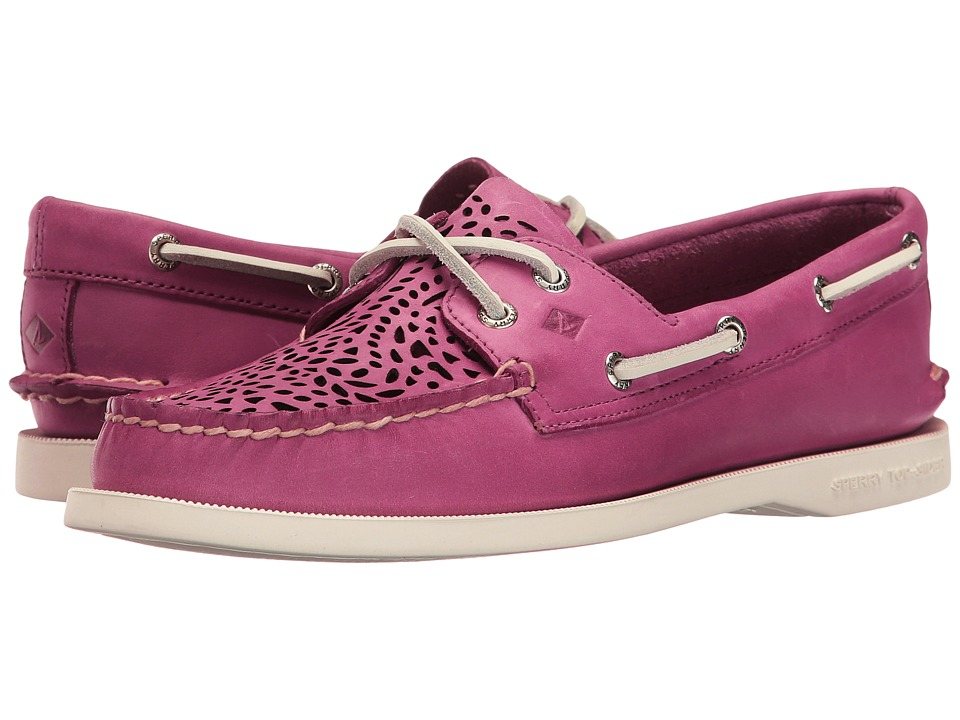 Sperry - A/O Villa Perf (Berry Pink) Women's Lace up casual Shoes