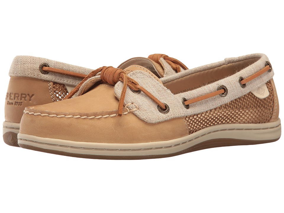 Sperry Barrelfish Crackle (Linen) Women