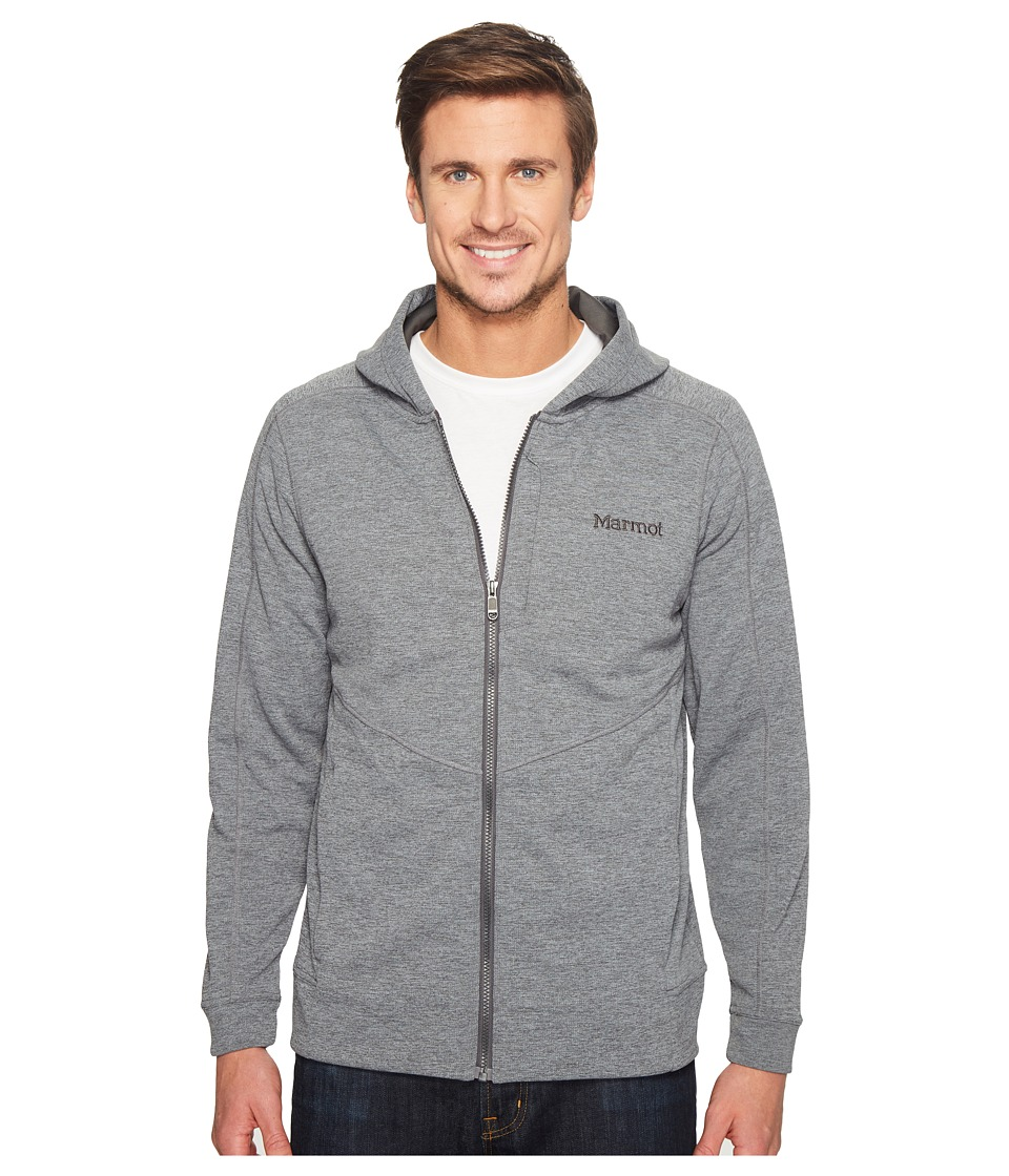 Marmot - Hayes Hoodie (Slate Grey Heather) Men's Sweatshirt