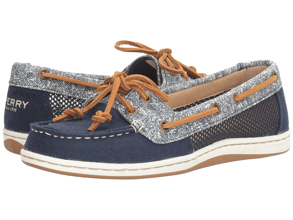 Sperry Firefish Sand Print (Navy) Women