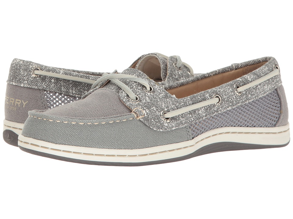 Sperry - Firefish Sand Print (Dark Grey) Women's Lace up casual Shoes