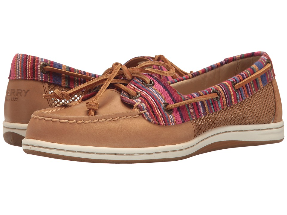 Sperry - Firefish Stripe Multi (Tan) Women's Lace up casual Shoes