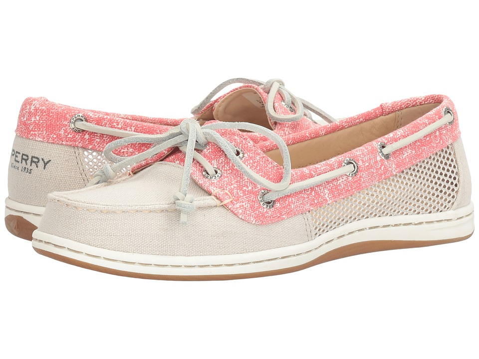 Sperry - Firefish Sand Print (Oat) Women's Lace up casual Shoes