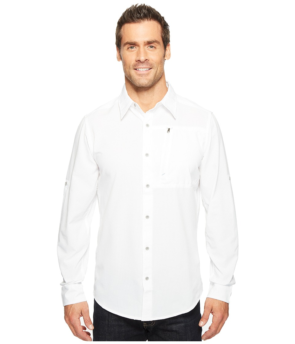 Marmot - Boreas Long Sleeve (White) Men's Long Sleeve Button Up