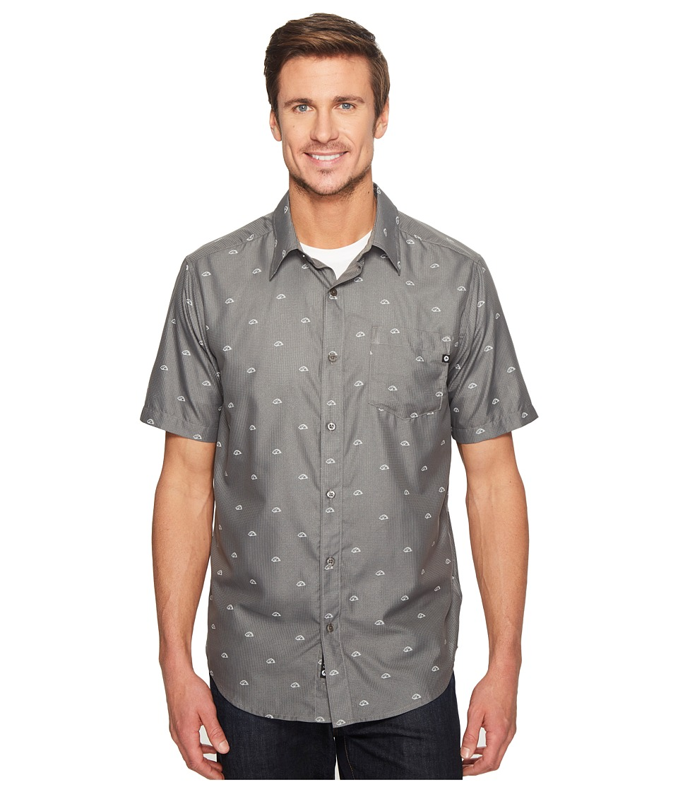 Marmot - Notus Short Sleeve (Cinder) Men's Short Sleeve Button Up