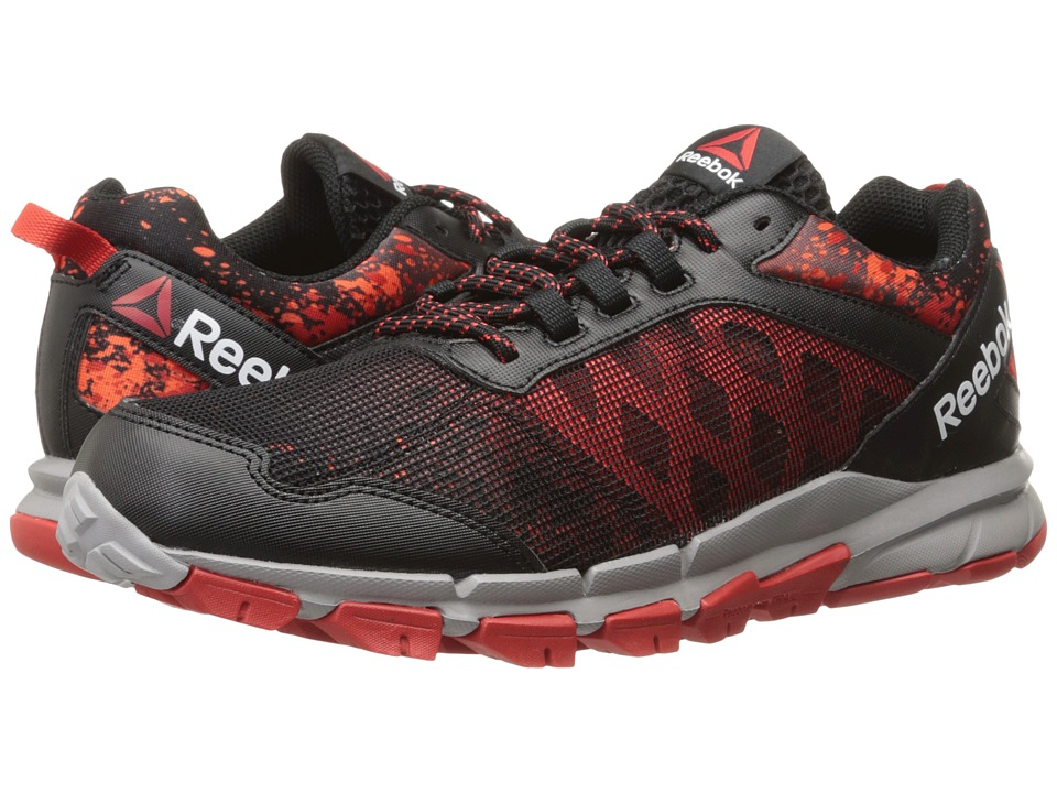 Reebok - Trail Warrior (Black/Motor Red/Atomic Red) Men's Shoes