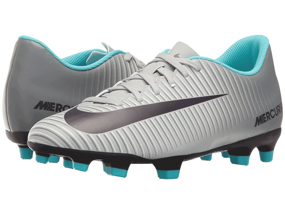 Nike - Mercurial Vortex III FG (Wolf Grey/Purple Dynasty/Cool Grey) Women's Soccer Shoes