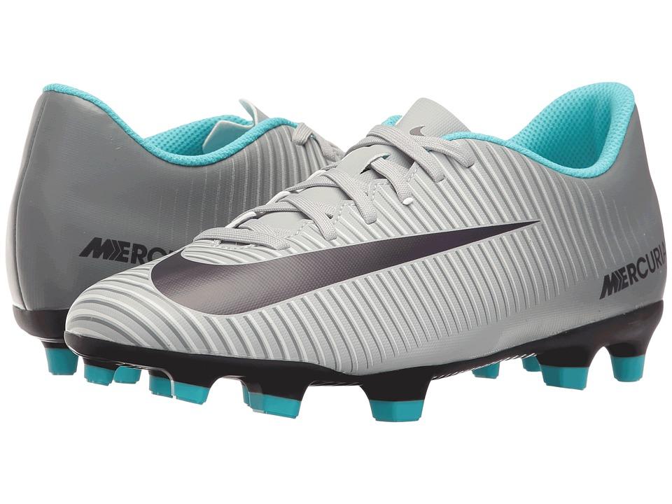 Nike - Mercurial Vortex III FG (Wolf Grey/Purple Dynasty/Cool Grey) Women's Soccer Shoes