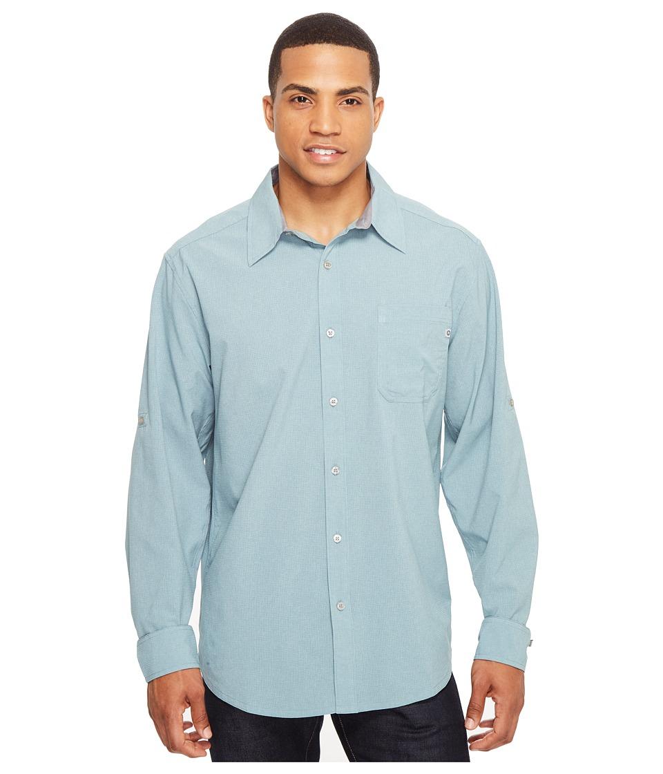 Marmot - Windshear Long Sleeve (Blue Granite) Men's Clothing