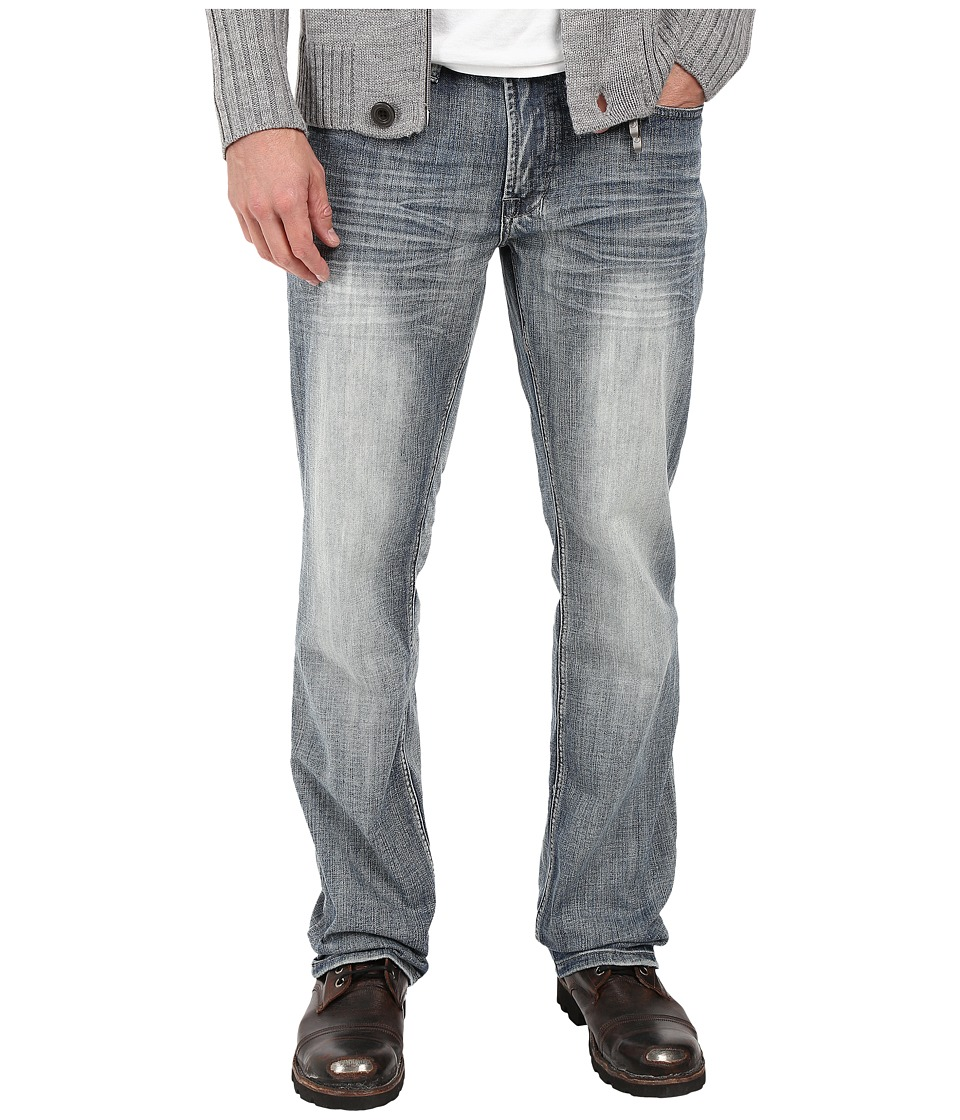Buffalo David Bitton - Driven Relaxed Straight Leg in Blasted Indigo (Blasted Indigo) Men's Jeans