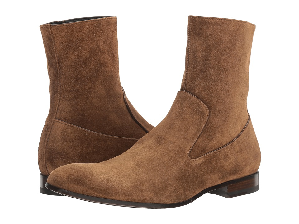 Alexander McQueen - Suede Chelsea Boot (Light Tan) Men's Boots