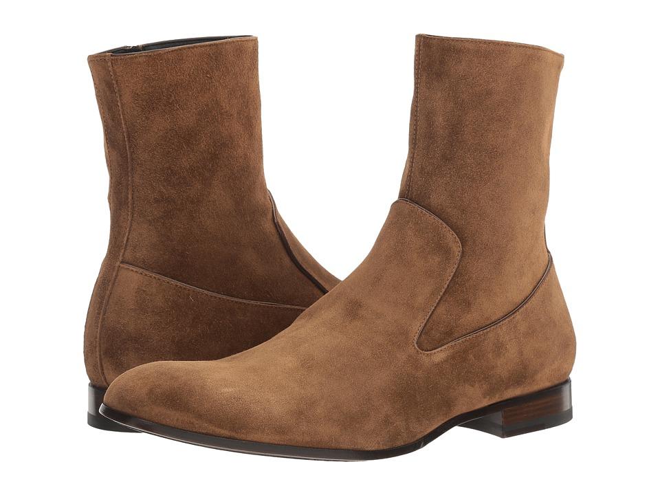 Alexander McQueen - Suede Chelsea Boot (Light Tan) Men's Boots