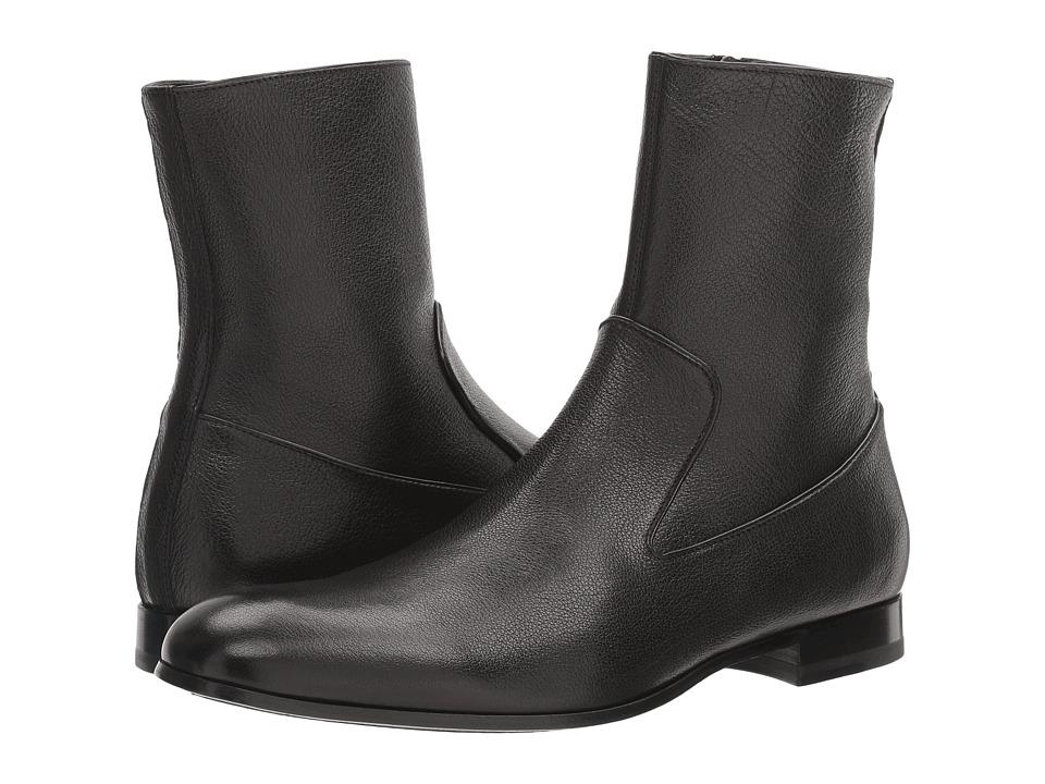 Alexander McQueen - Chelsea Boot (Black) Men's Boots