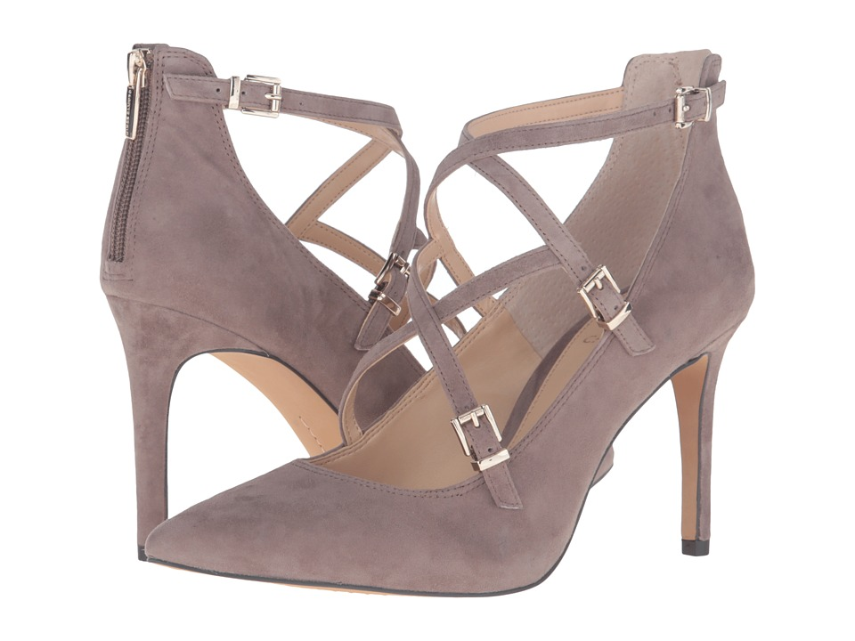 Vince Camuto - Neddy (Stone Taupe True Suede) High Heels
