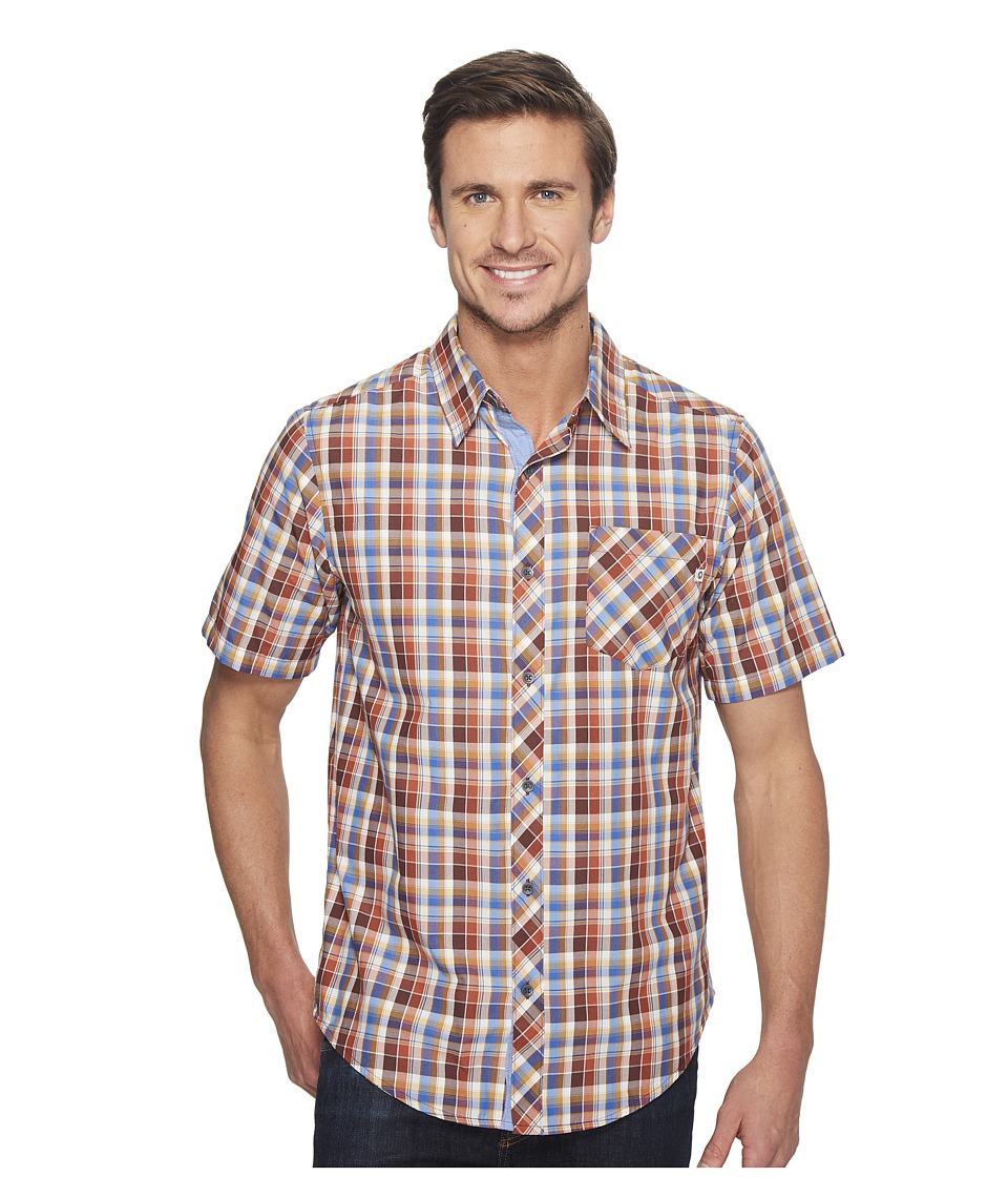 Marmot - Ridgecrest Short Sleeve (Brick) Men's Short Sleeve Button Up