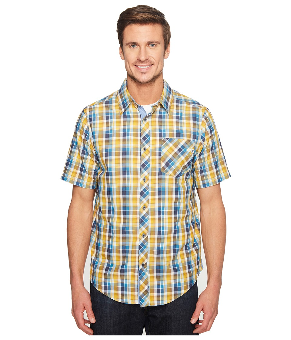 Marmot - Ridgecrest Short Sleeve (Slate Blue) Men's Short Sleeve Button Up