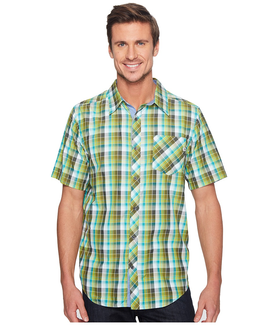 Marmot - Ridgecrest Short Sleeve (Stone Green) Men's Short Sleeve Button Up