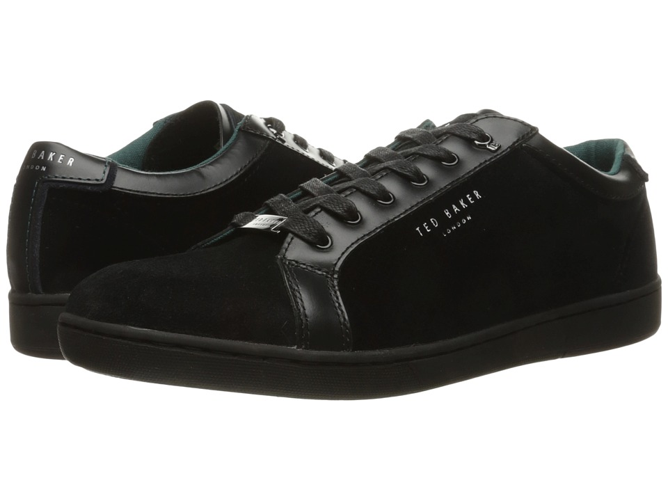 Ted Baker - Mirete 2 (Dark Blue Velvet/Suede) Men's Lace up casual Shoes