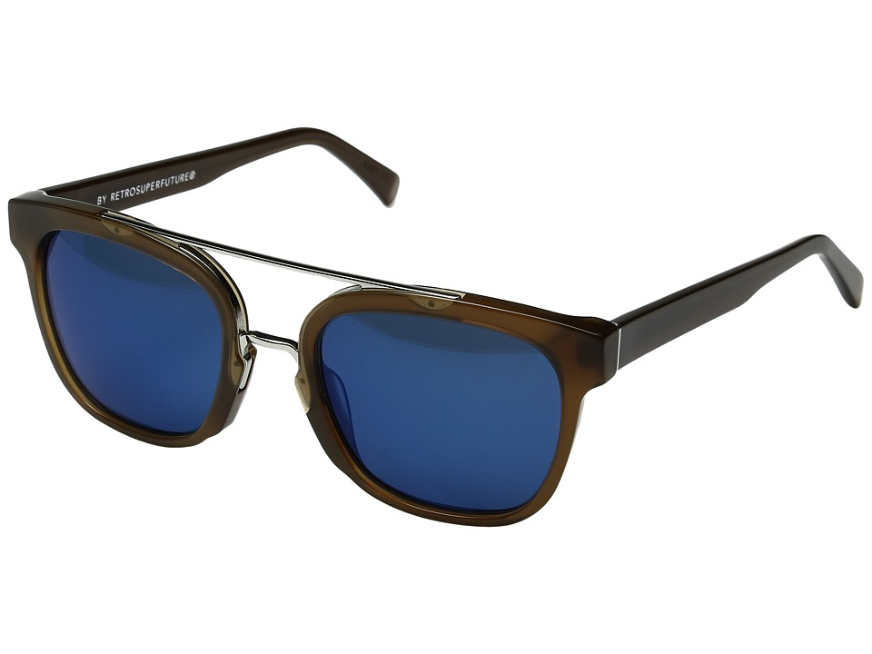 Super - Akin Deep Brown (Deep Brown) Fashion Sunglasses