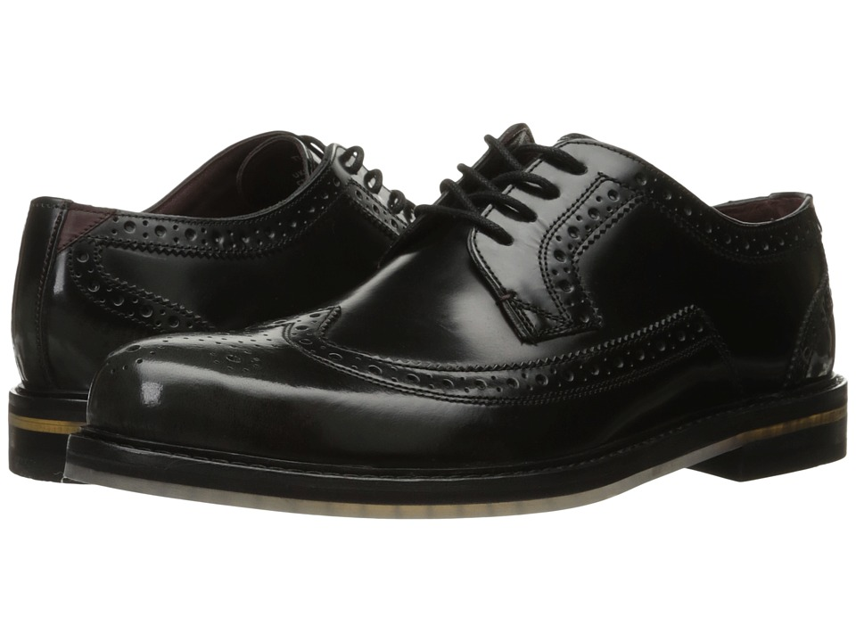 Ted Baker - Ttanum 3 (Dark Grey High Shine Leather) Men's Shoes