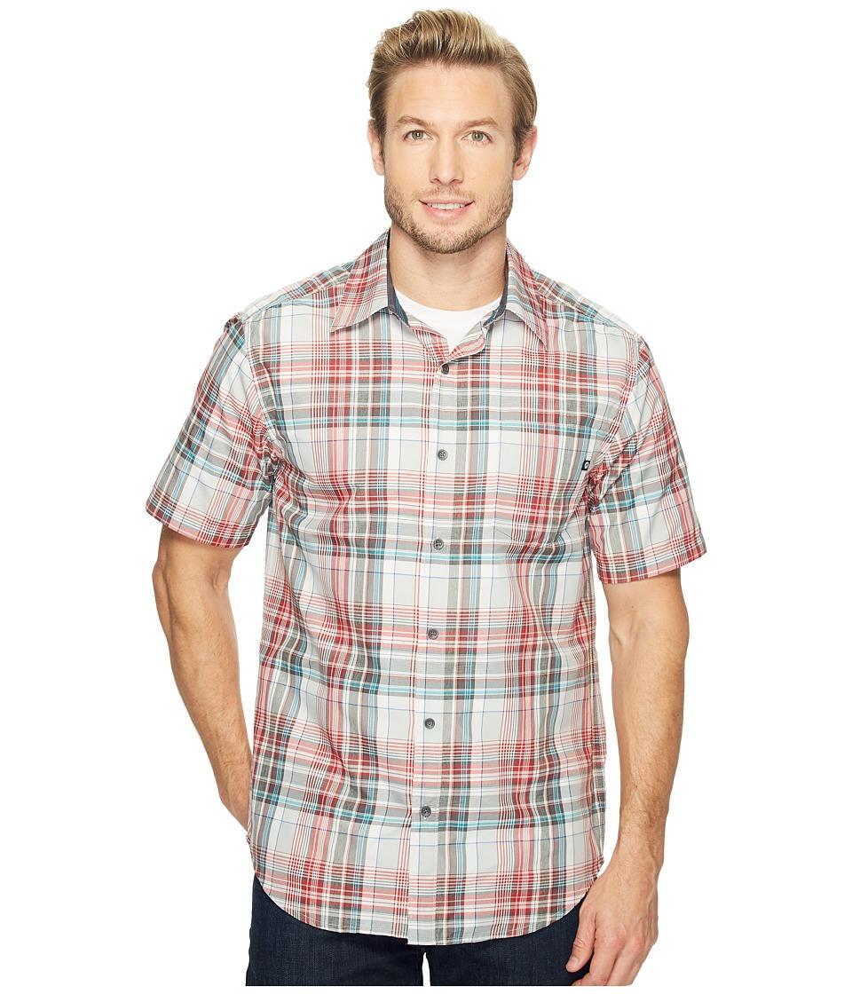 Marmot - Dobson S/S (Port) Men's Short Sleeve Button Up